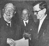 Professor Hans Brix Modtager Blicherprisen i 1955