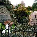 Blicher og Ernestines gravsted